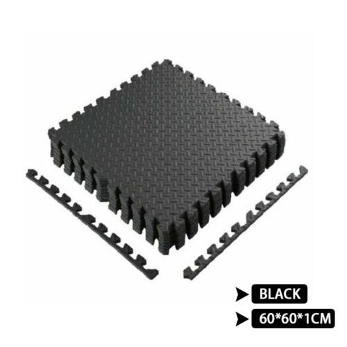 Gym Flooring Mat Interlocking Puzzle Exercise Mat Protective EVA Foam Yoga Tiles