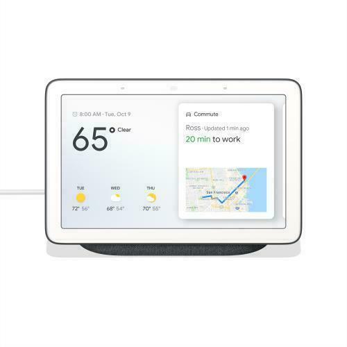 Google Home Hub With Google Assistant Ga00515 Us For Sale Online Ebay