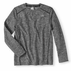 1f256472 $99 RUSSELL MEN'S BLUE COMPRESSION DRI-POWER LONG-SLEEVE ATHLETIC ...