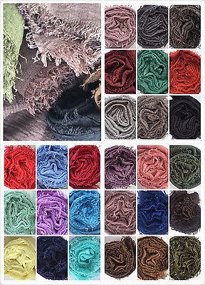 Crimp Crinkle Maxi Cotton Hijab UK