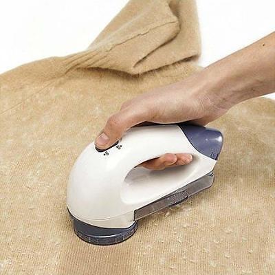 Large Clothes Bobble Fluff Lint Remover Shaver Fuzz Off Fabric Jumper Carpet CN=