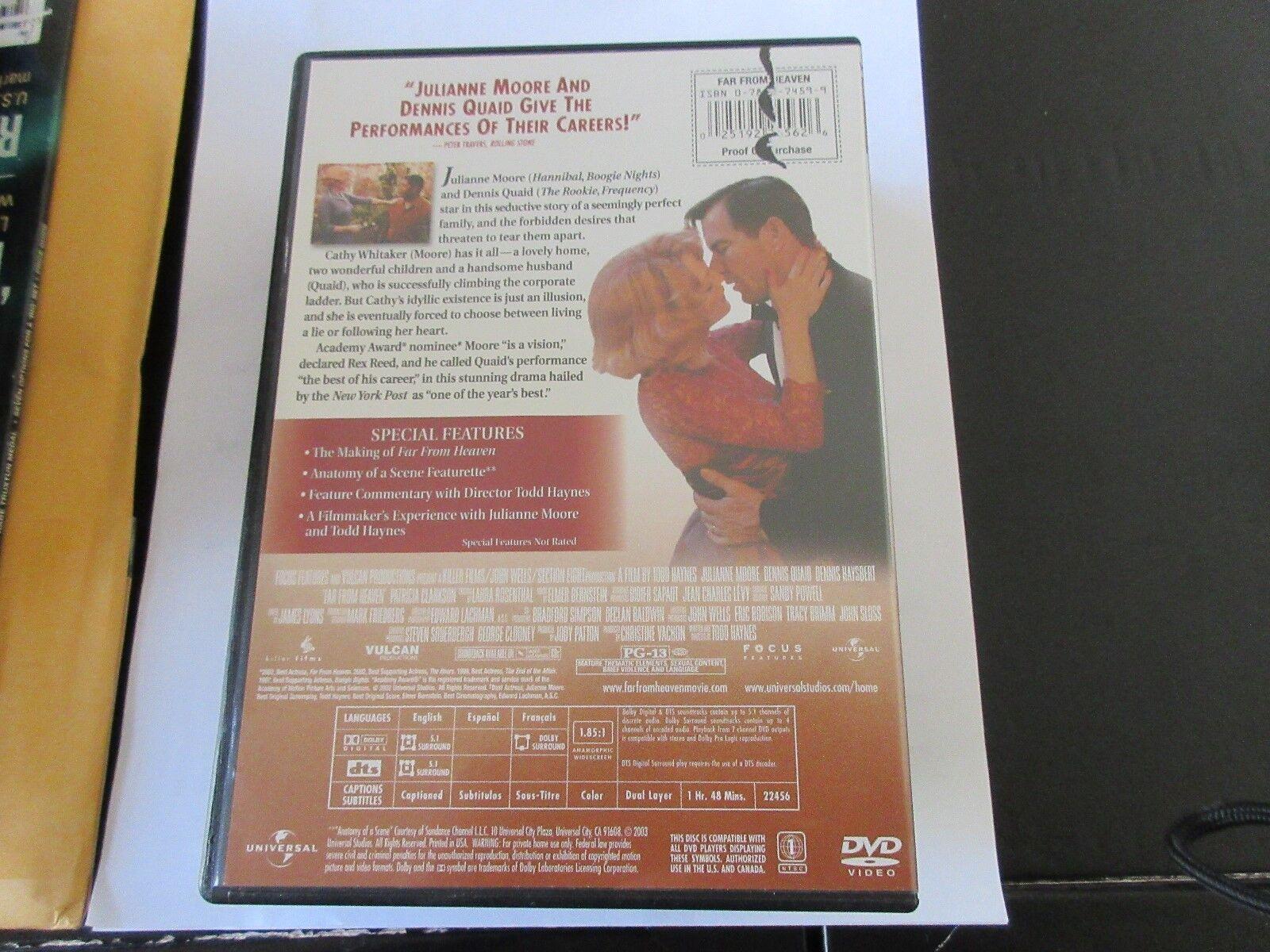 Far From Heaven , DVD