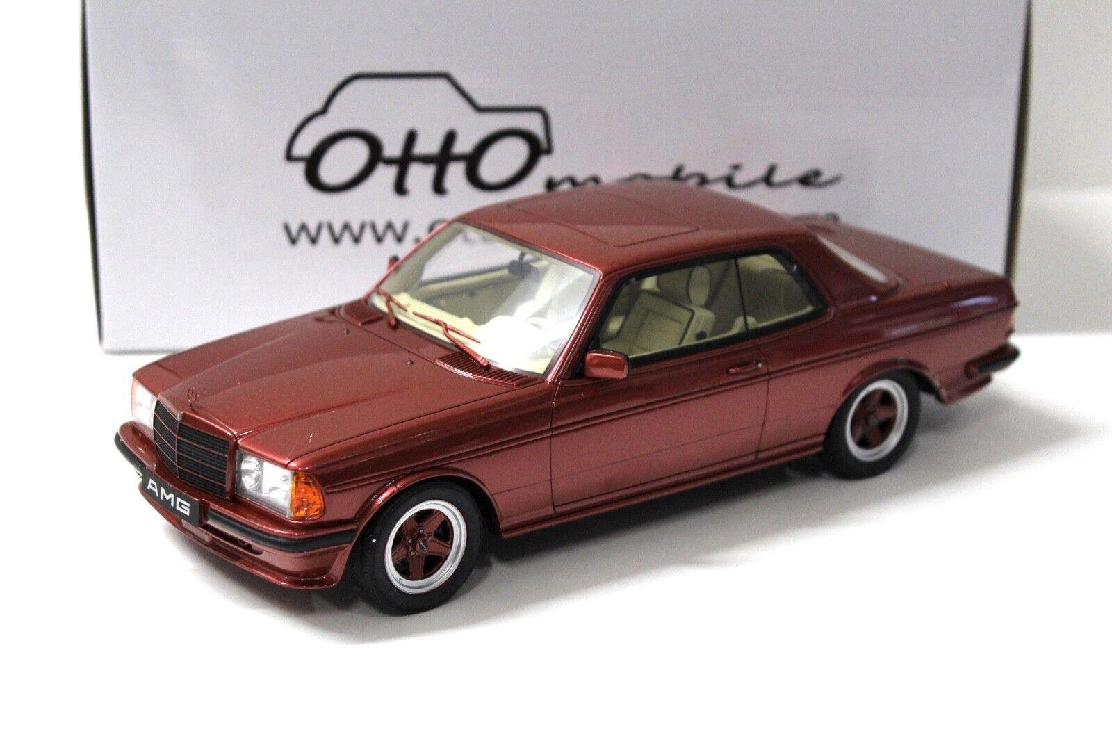 1 18 Otto mercedes 500 CE AMG w123 rosso new en Premium-modelcars