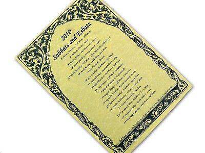 WICCAN FESTIVAL & MOON CALENDAR 2019 parchment poster wicca pagan sabbats  esbats   eBay