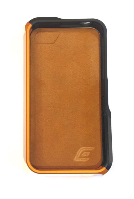 Element Case Vapor Pro for iPhone 4/4s - Aluminum with Ultrasuede Back