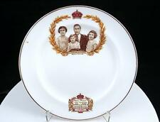 """HAMMERSLEY BY MARCUS ADAMS ROYAL FAMILY PORTRAIT 7"""" CORONATION PLATE MAY 12,1937"""