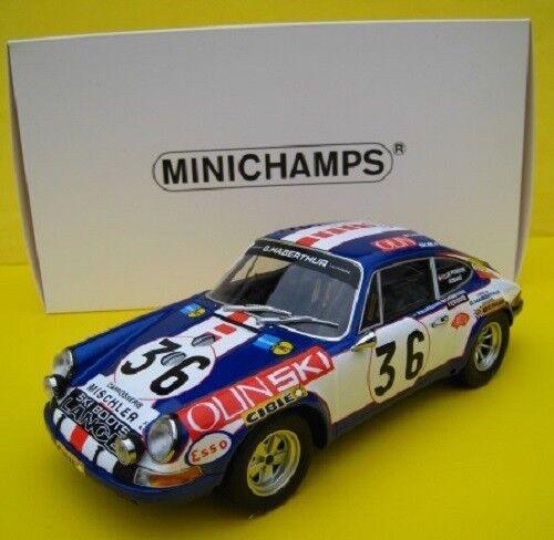 Porsche 911 S  24 Stunden Le Mans 1971  Minichamps  1 18  NOVP