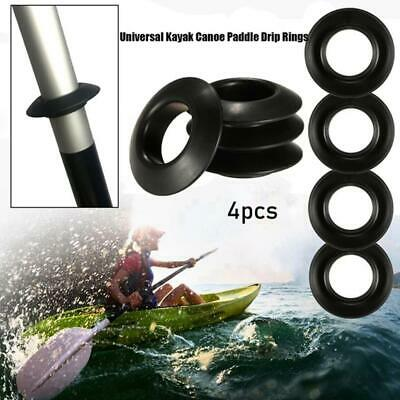Keeps Shafts//Hands Paddle Dry A2S6 4x Kayak Paddle Drip Rings Guards Universal