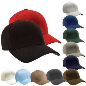 original-FLEXFIT-Casquette-Baseball-Cap-Basecap-Plaine-Wooly-Combed