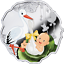 2018-Cameroon-Born-to-be-Happy-Newborn-Baby-1-2-Oz-Silver-Color-Proof-Coin-Stork thumbnail 1