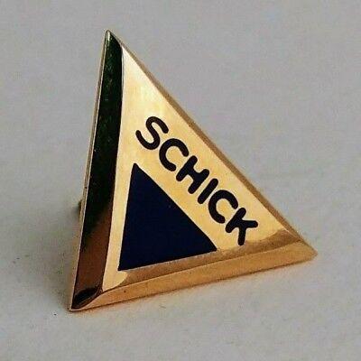 SCHICK EMPLOYEE SERVICE AWARD 14K YELLOW GOLD PIN 10 YEARS? 20 YEARS? | eBay