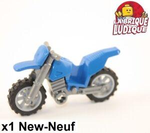 Lego-Rouge Dirt Bike Moto Moto Motocross-CITY-très bon état