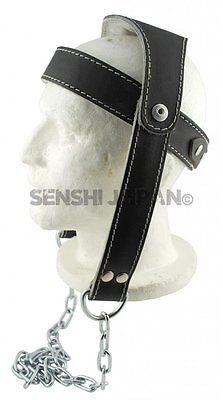 Miglioramento Della Qualità In Pelle Testa Collo Cablaggio Catena Collo Cintura Dip Peso Da Palestra Head-
