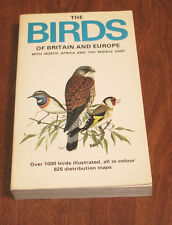 THE BIRDS OF BRITAIN AND EUROPE WITH NORTH AFRICA AND THE MIDDLE EAST HEINZEL