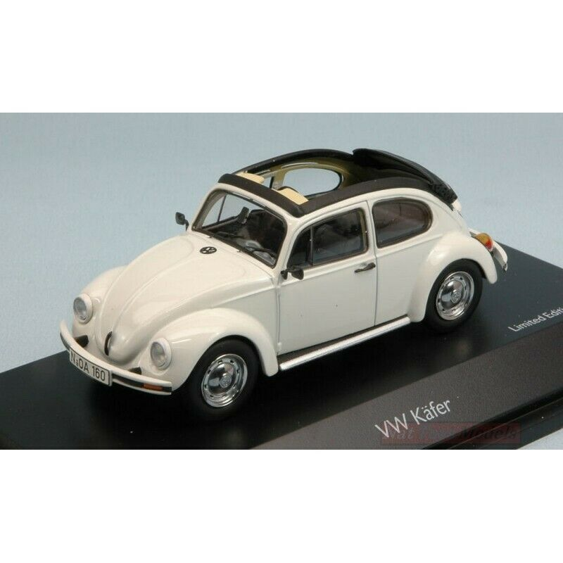SCHUCO SH3879 VW KAFER OPEN AIR Weiß 1 43 MODELLINO DIE CAST MODEL compatibile