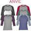ANVIL-MEN-039-S-RAGLAN-TOP-3-4-SLEEVE-T-SHIRT-TEE-CONTRAST-COLOURS-CASUAL-XS-2XL-NEW thumbnail 1