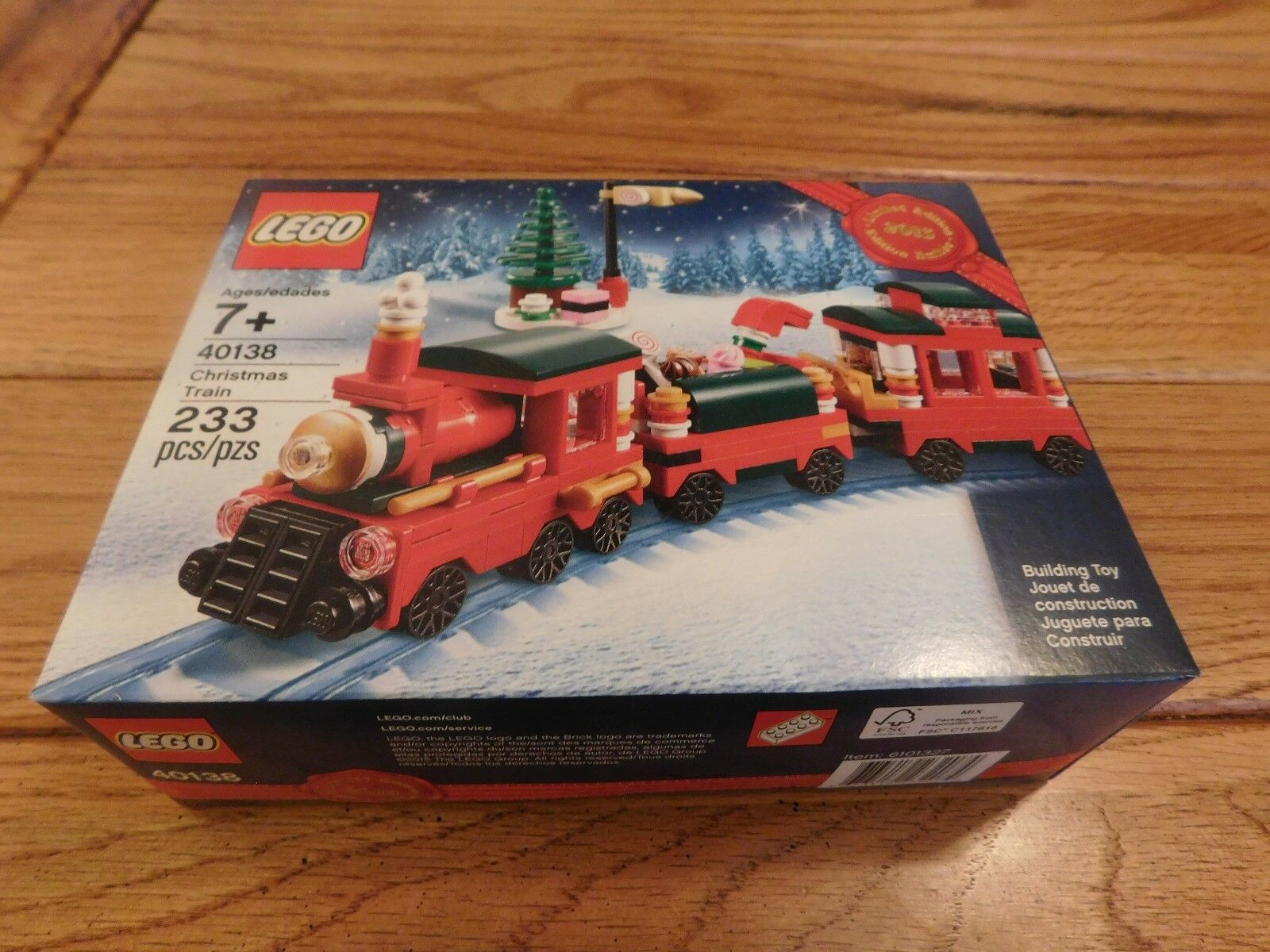 Lego 40138 Christmas Train Limited Edition 2015 Holiday Retirosso SEALED NEW RARE