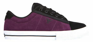 Fallen-Kids-Shoes-Bomber-Black-Plum-USA-SIZE-FREE-POST-Skateboard-Bmx-Sneakers