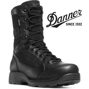 "Danner Striker Torrent Side-Zip 8"" Work Boots - 43013 - Black ..."