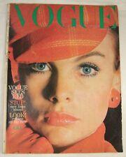 Vogue August 1966 Marshall McLuhan Norman Parkinson Coddington Avedon Bailey