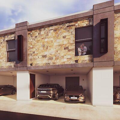 Venta Casa Vitela tipo Townhouse 2 recámaras tecnologia Smarthome en Diaz Ordaz al norte de Mérida