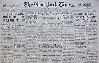 Practical Dillinger Hunt Eludes 5,000 Little Bohemia 4-1934 April 25 Federal Agents Mercer Mobs, Gangsters & Criminals