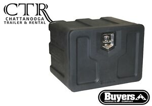 Buyers Products Black Poly Underbody Truck Box 18x18x36 Inch