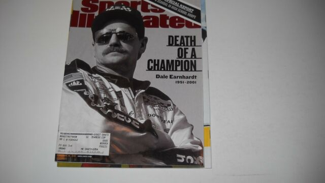 Death of Dale Earnhardt - 2/26/2001 -Sports illustrated