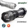 8000LM CREE Q5 AA/14500 ZOOMABLE LED SkyWolfeye Flashlight Mini Torch Light Lamp