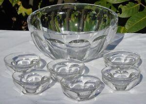 Baccarat-Sercive-a-creme-en-cristal-taille-modele-Harcourt