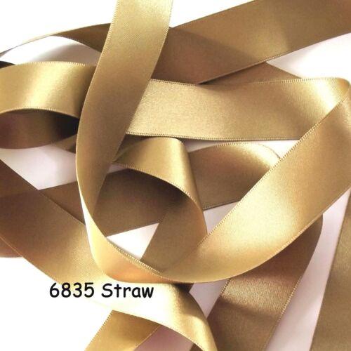 Double Ruban Satin R26 25 mm de large ruban de Berisfords Ruban Nuances de 977-6847