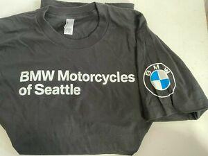 BMW Genuine Motorcycle Motorrad Men Classic T-Shirt Tee Shirt Blue M Medium