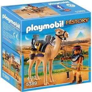Playmobil-5389-Guerrero-egipcio-en-camello