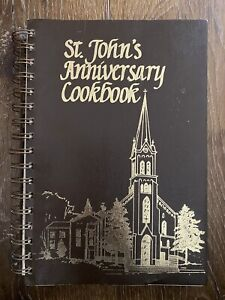 VINTAGE 1983 St. John's Baptist Church Jordan Minnesota Cookbook Recipes Cooking