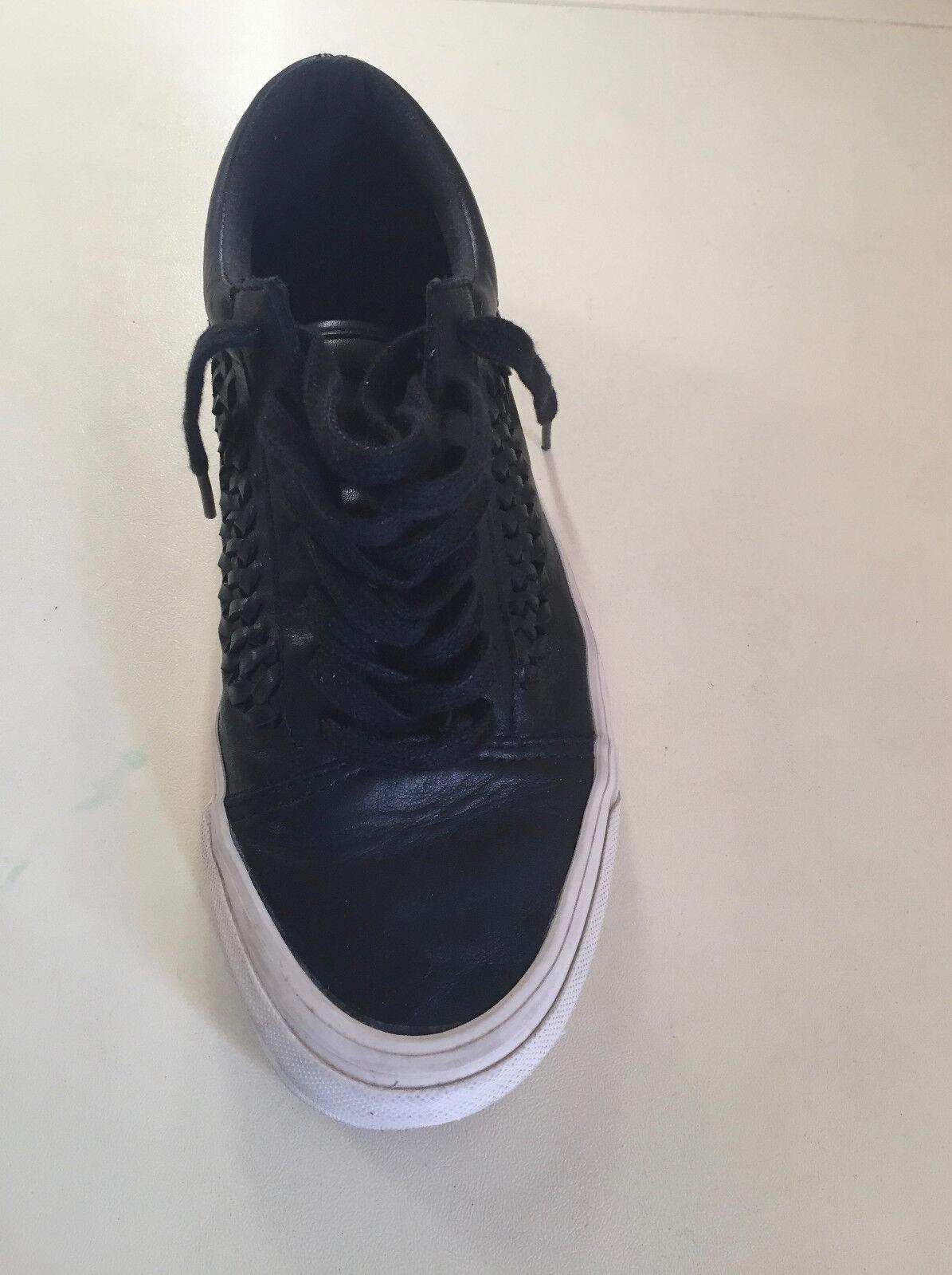 damen's Vans Leather Lace Up Trainer  schuhe Größe UK5  EU 38 unisex