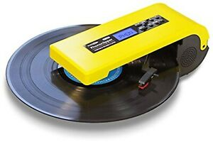 Bearmax-Portable-Record-Player-Vinyl-USB-MP3-Phono-Clipper-PT-300-NEW-JAPAN