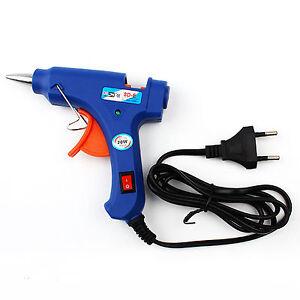 Professional-20W-Electric-Heat-Hot-Melt-Adhesive-Glue-Gun-Use-7mm-Glue-Sticks