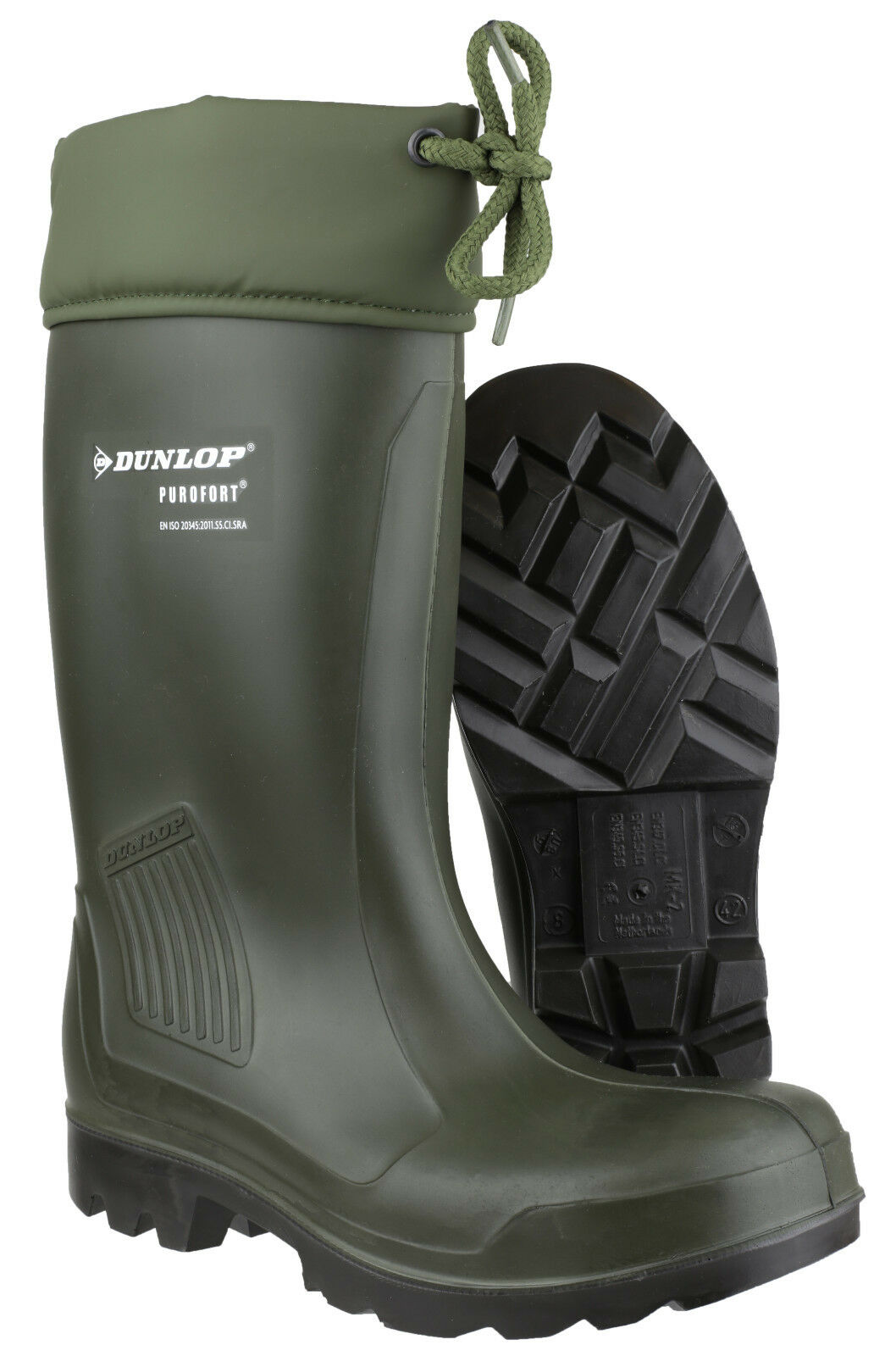 Dunlop Thermoflex Safety Waterproof Unisex Work Pull On Wellingtons UK4-12