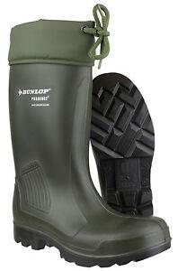 Uk4 Dunlop Work Thermoflex Pull 12 Wellingtons On Waterproof Unisex Safety 8Irx8