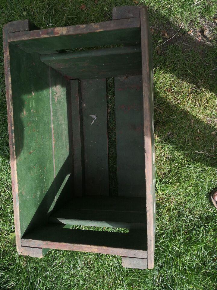 Ølkasse, Gammel træ kasse sodavands /ølkasse