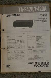 Service-Manual-fuer-Sony-TA-F420-F420A