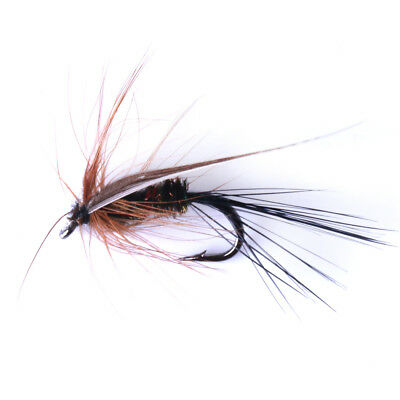 32pcs//Box Dry Wet Fly Fishing Bait Hook Lures Bass Salmon Trout Fishing Tackle