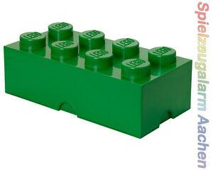 lego storage brick 8 gr n green stein 2x4 aufbewahrung dose xxl box kiste ebay. Black Bedroom Furniture Sets. Home Design Ideas