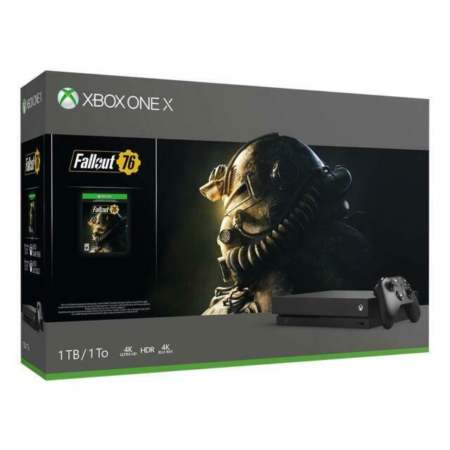 Microsoft Xbox One X 1TB Console Fallout 76 Bundle - Black
