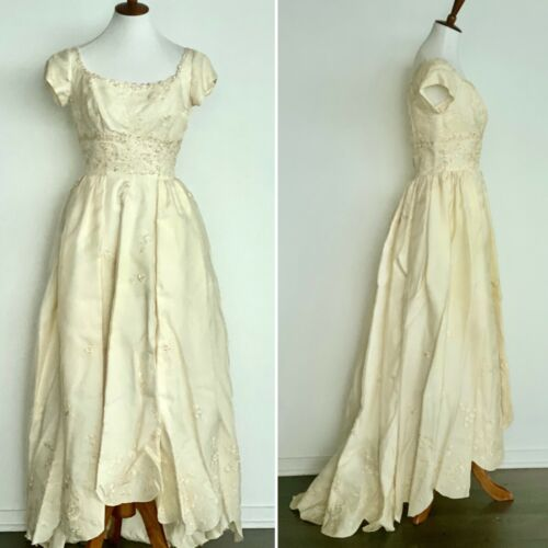 50s Wedding Dress - 1950s Wedding Dress - Vintage