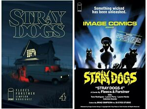 Stray Dogs #4 Cover A B Variant Set Options Movie Horror Image Comics
