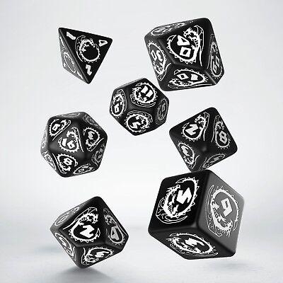 7x D10 multi-face dé GEM Die pour RPG donjons /& dragons jeux D/&D MDN  I