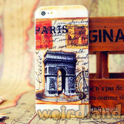 Quality Painted Case WeirdLand Retro Landmarks Case for iPhone SE//5//5S