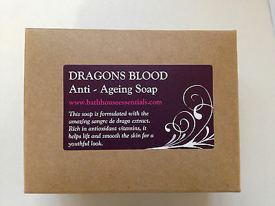 DRAGONS BLOOD SOAP FOR  WRINKLES, ANTI AGEING, AGE SPOTS restoring soap