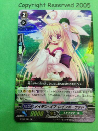 CARDFIGHT Vanguard Japanese BT08//013 Maiden of Rainbow Wood RR